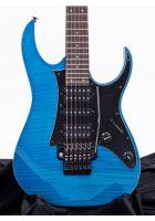 Ibanez RG3750FZ Prestige Transparent Blue