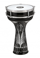 "Meinl Percussion HE-124 Darbuka 8"" Aluminium handgraviert"