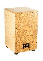 Meinl Percussion WCP100MB Professional Woodcraft Cajon Baltic Birch Body Makah-Burl Frontplate