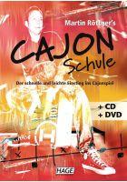 Hage Martin Röttger's Cajon Schule inkl. CD & DVD