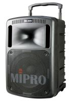 Mipro MA 808 D tragbares Lautsprecher-System mit CD-Player