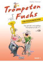 Hage Trompeten Fuchs für Posaunenchor Band 1 inkl. CD