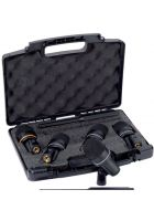 LD Systems D 1017 Drum Koffer Mikrofonset