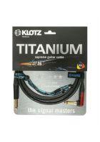 Klotz Instrumentenkabel Titanium Silent Winkel/Klinke Neutrik