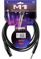 Klotz Mikrokabel M1 10m XLRf/Klinke mono Neutrik M1FP1N1000