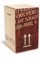 Schlagwerk CP404RED Snare Cajon 2inOne Large Red Edition