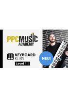 """PPC Music Academy """"Keys spielen nach Akkordsymbolen Level 1 – Von Buchstaben zur Musik"""""""
