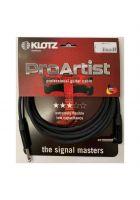 Klotz Instrumentenkabel Prime Standard Winkel/Klinke Neutrik