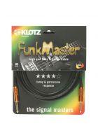 Klotz Instrumentenkabel Supreme T.M. Funkmaster Klinke/Klinke