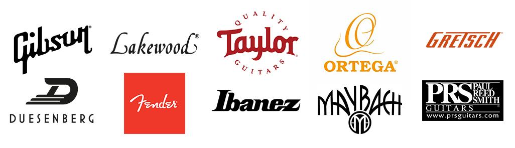 Gitarren und Bässe hochwertiger Marken bei PPC Music