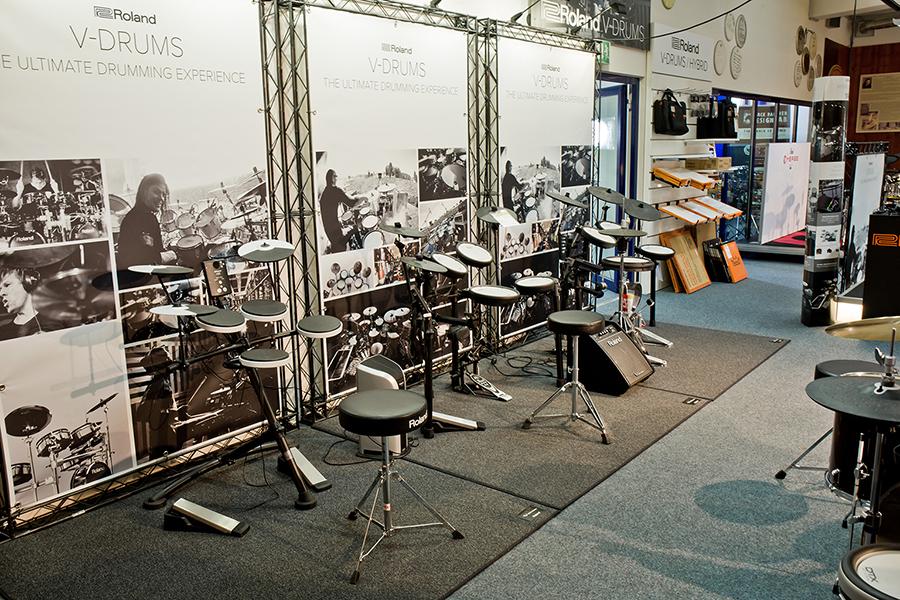Ausstellung: E-Drums