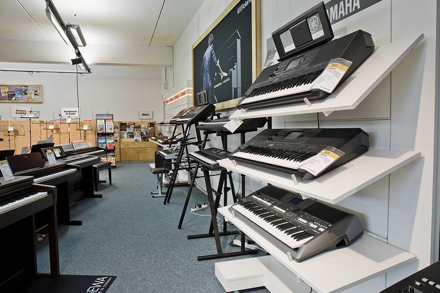 Entertainer-Keyboards und Orgeln