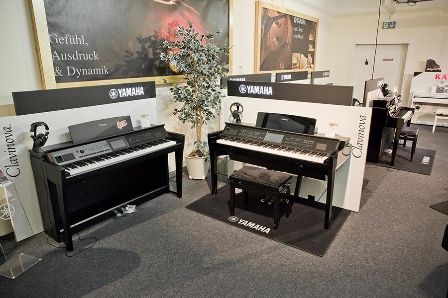 aktuelle Digitalpianos von Yamaha