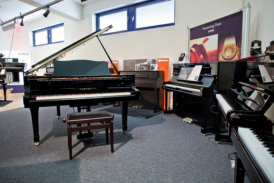 Ausstellung: Keyboards und Klaviere