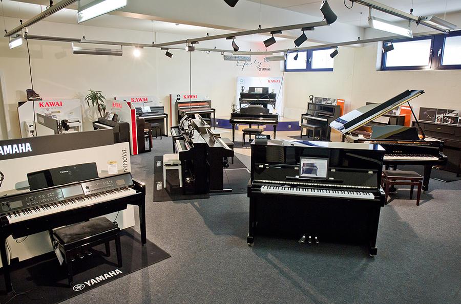 Pianoraum bei PPC Music