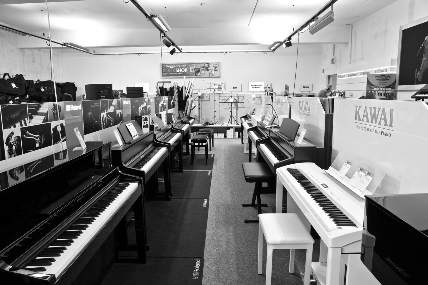 keyboard und piano
