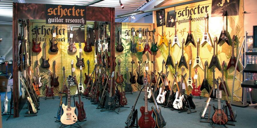 Gitarrenabteilung PPC Music