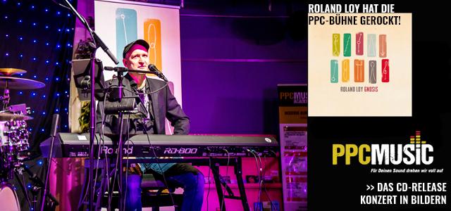 Roland Loy auf der PPC-Bühne