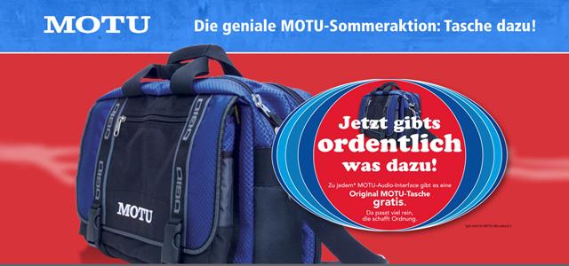 MOTU Tasche Slider