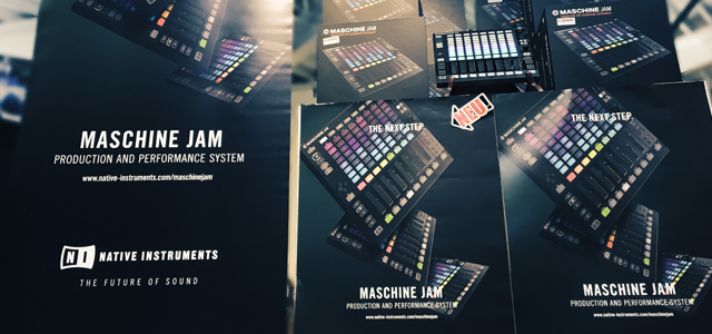 Maschine Jam Slider