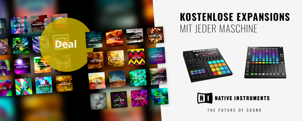 MASCHINE EXPANSIONS Sales Special