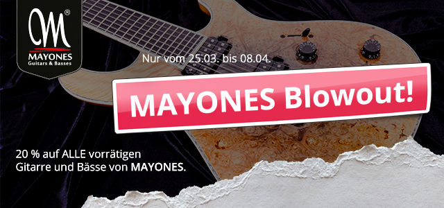 SALE: Mayones Blowout!