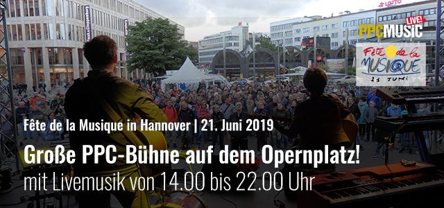 PPC Music bei der Fête de la Musique 2019 in Hannover