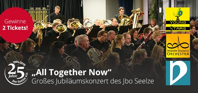 Großes Jubiläumskonzert des JBO Seelze