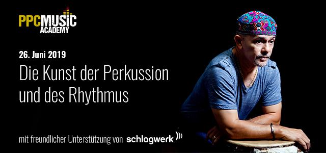 Freddie Santiago – Percussion-Kurs