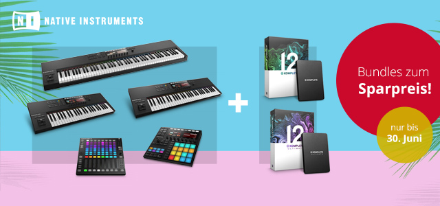Native Instruments: summer of sounds-Aktion