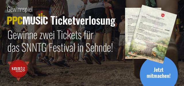 PPC Music verlost zwei Tickets für das SNNTG Festival!