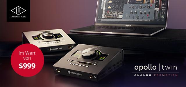 Universal Audio – Gratis Analog Classics Pro Bundle!