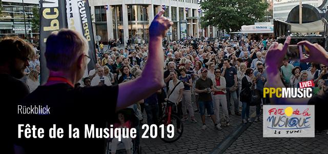 PPC Music bei der Fête de la Musique 2019