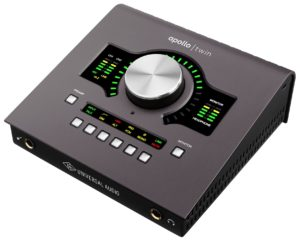 Universal Audio Apollo Twin MKII w/DUO Processing