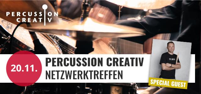Percussion Creativ Netzwerktreffen der Regionalgruppe Hannover