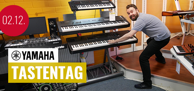 Yamaha Tastentag bei PPC Music in Hannover