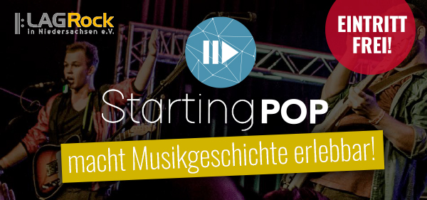Starting Pop: interaktive Musikausstellung