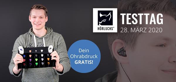 Der Testtag mit Hörluchs am 28.03.2020