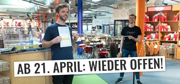 Wiedereröffnung bei PPC Music in Hannover