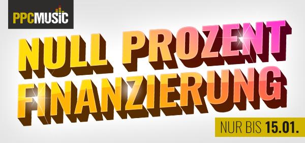 Null Prozent-Finanzierung bei PPC Music aus Hannover