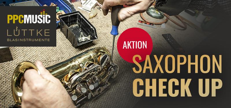 Saxophon-Aktion: Check up mit Lüttke Blasinstrumente und bei PPC Music aus Hannover