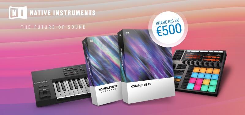 Native Instruments: Summer of Sound 2021: Spare bis zu 500,– €!