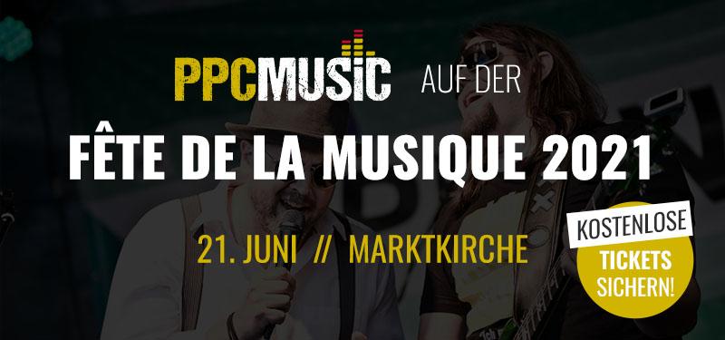 PPC Music: auf der Fete de la Musique 2021 in Hannover
